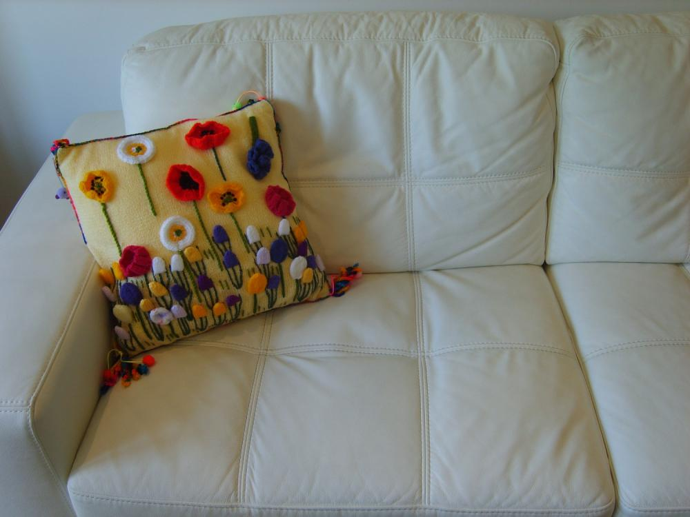 Spring Flower Cushion