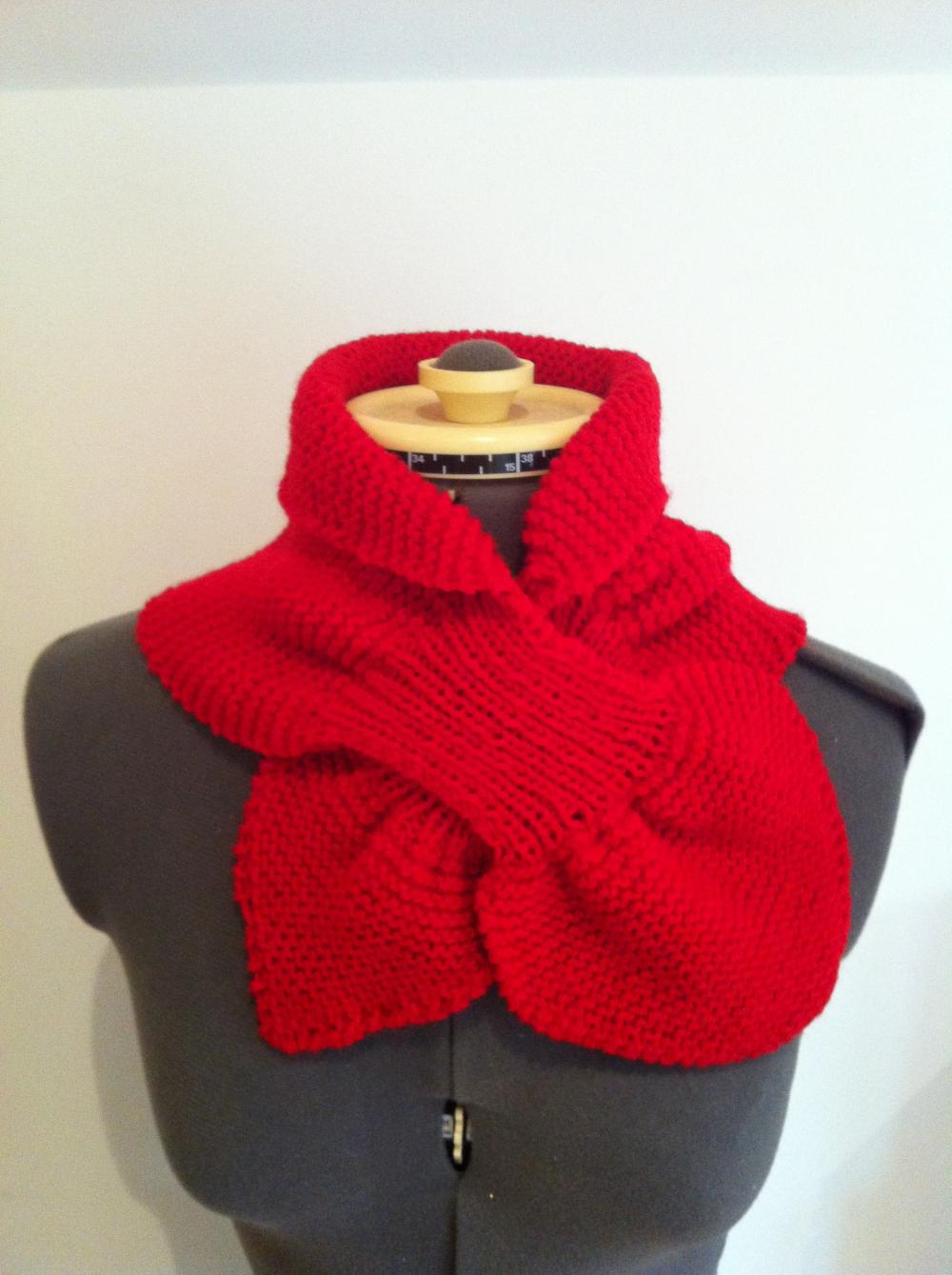 Royal Ascot Scarf in Pillar Box Red